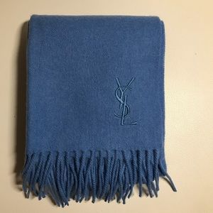 🧣YSL very soft wool/cashmere scarf